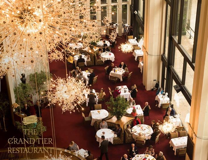 Grand Tier Restaurant Dining Room