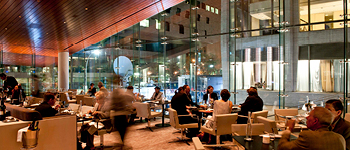 Lincoln Ristorante dining room, Italian dining, Upper Westside NYC