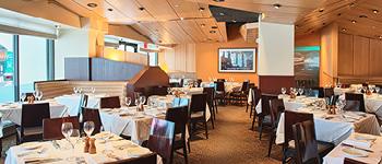 Nick + Stef's Steakhouse dining room, Restaurants near MSG
