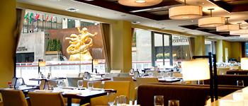 Rock Center Cafe dining room, Rockefeller Center dining