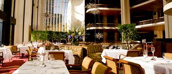 The Grand Tier Restaurant dining room, Met Opera House restaurant, NYC
