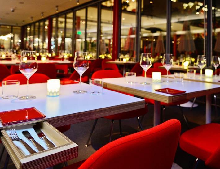 Ray's Stark Bar at LACMA   Dining Area