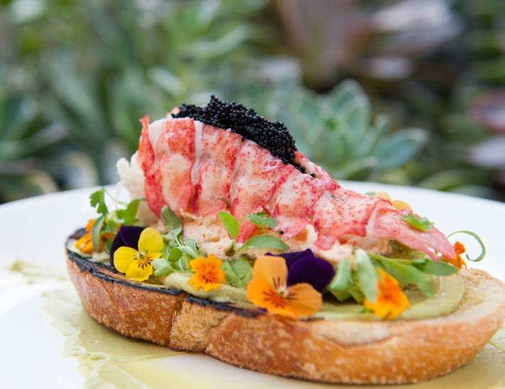 Fresh fare at Maple at Descanso Gardens
