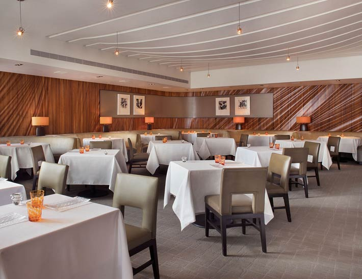 Patina Restaurant Dining Area