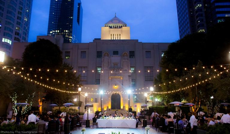 Downtown LA Garden Wedding