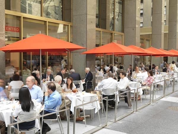 Cafe Centro outdoor patio