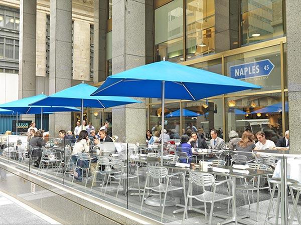 Naples 45 outdoor patio