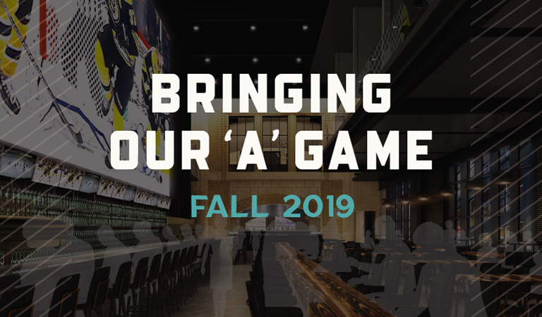 Banners Kitchen & Tap bringing our A-game Fall 2019 to the newly-developed Hub on Causeway