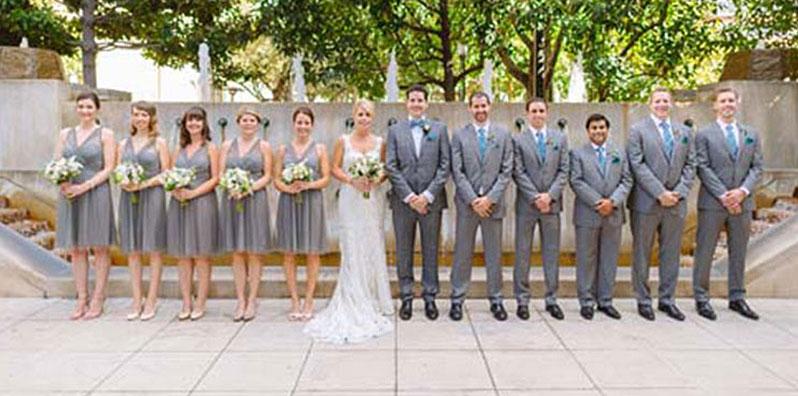 Wedding Party in LA