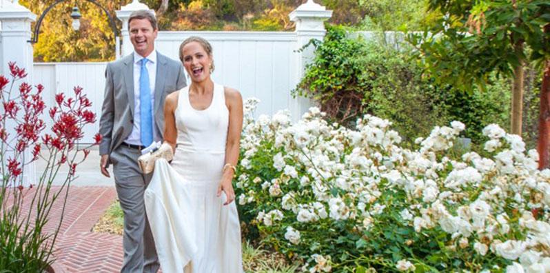 Garden Wedding in Los Angeles