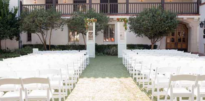 Wedding Ceremony At Bowers Museum