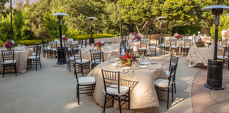 Wedding Reception at Descanso Gardens