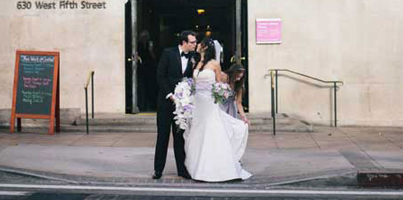 Wedding at Cafe Pinot