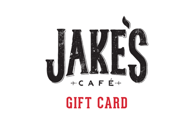 JAKE'S CAFE GIFT CARDS