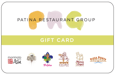 PAtina Restaurant Group Orlando Gift Card