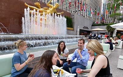 Rockefeller Center Garden Bar